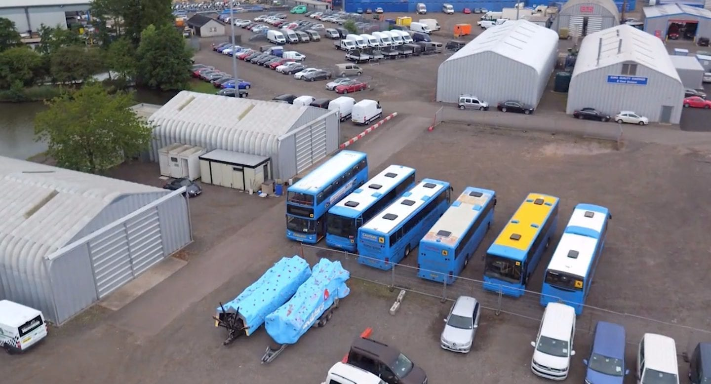 blue self storage in cardiff - our vehicle storage