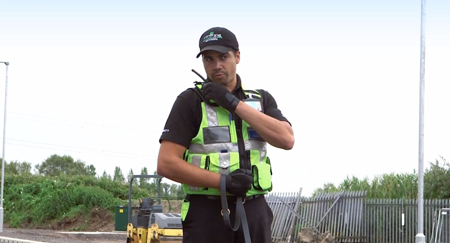 blue self storage in cardiff - our 24/7 security guard patrols