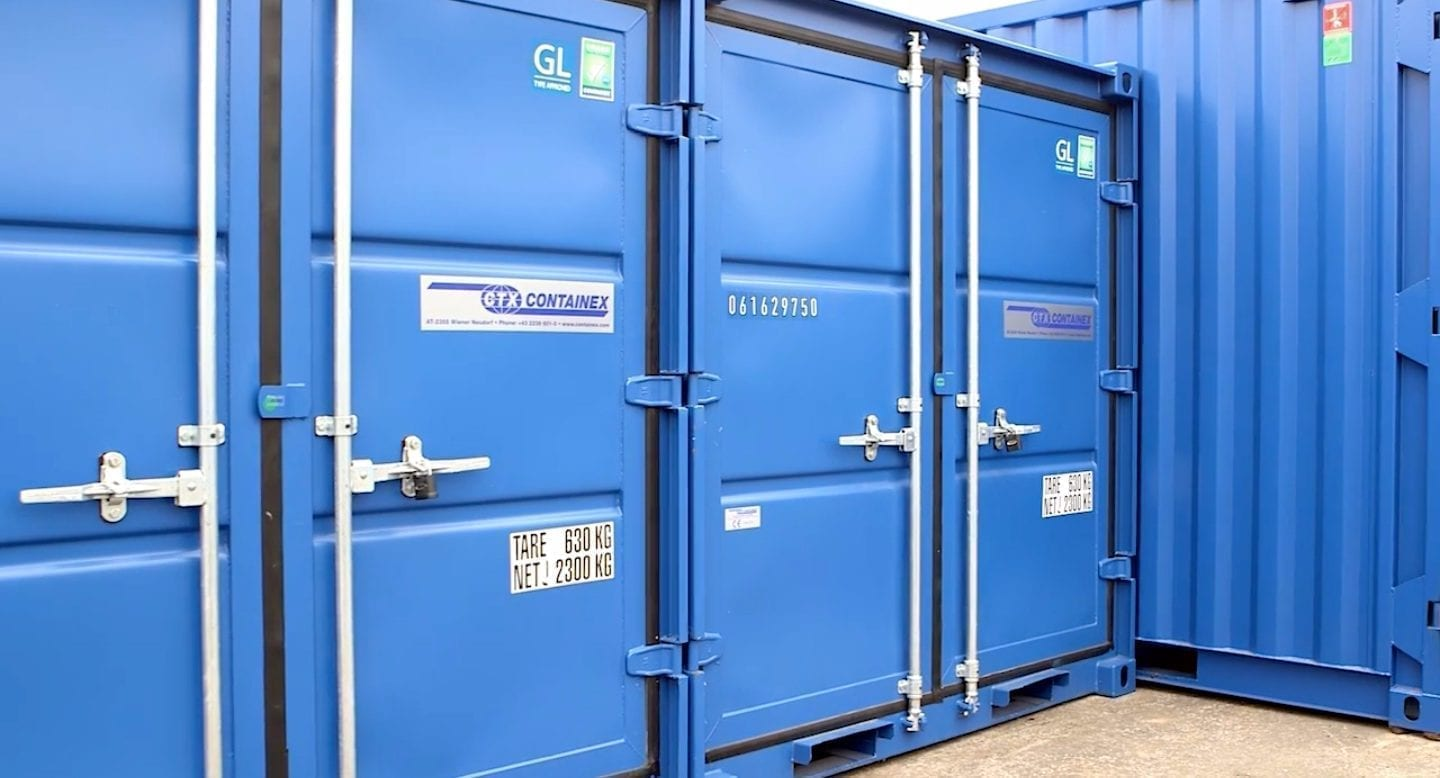 blue self storage in cardiff - our storage units