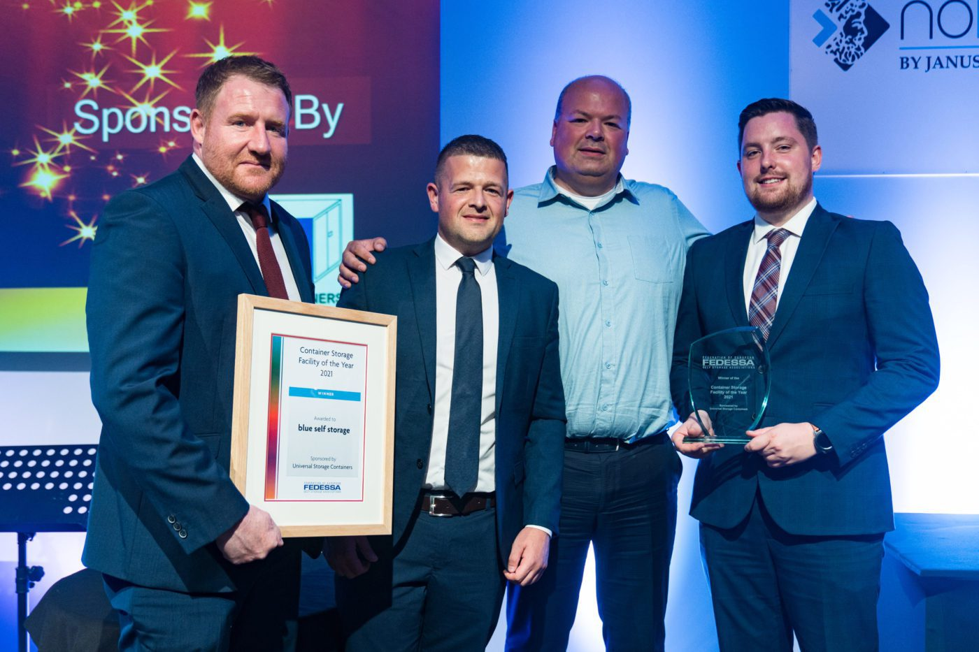BSS winner European Container Storage Facility of the Year 2021