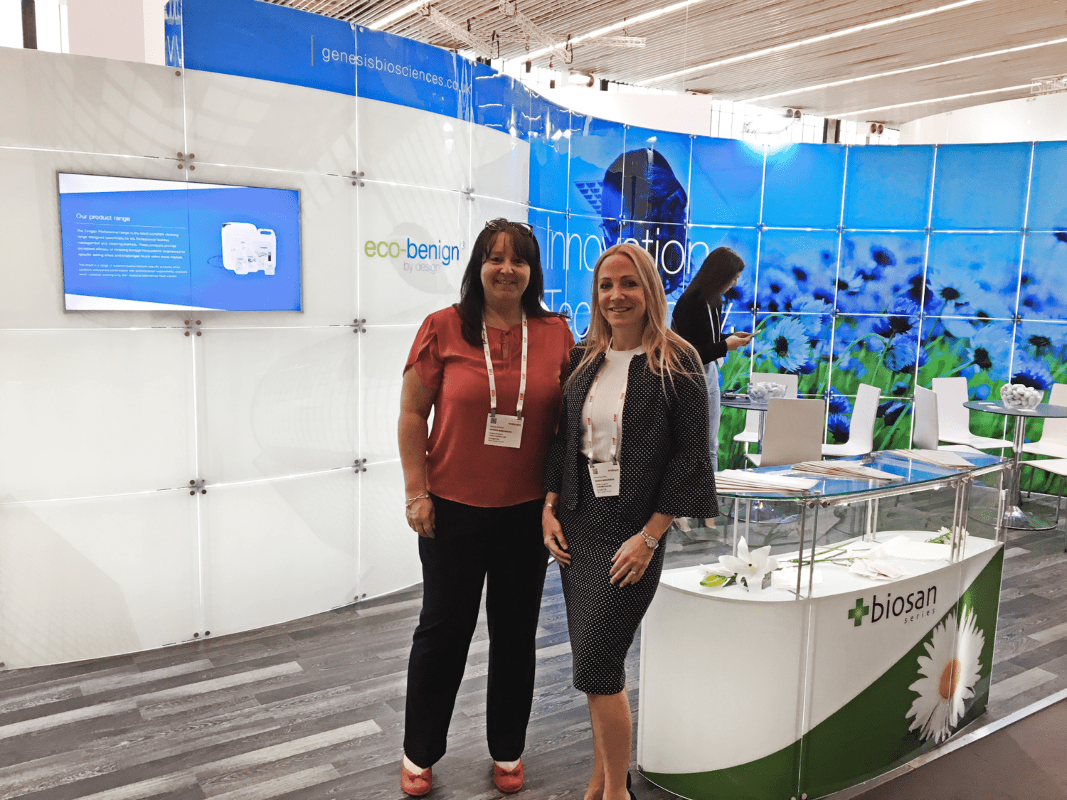 Genesis Biosciences at the ISSA tradeshow 2018 in Amsterdam