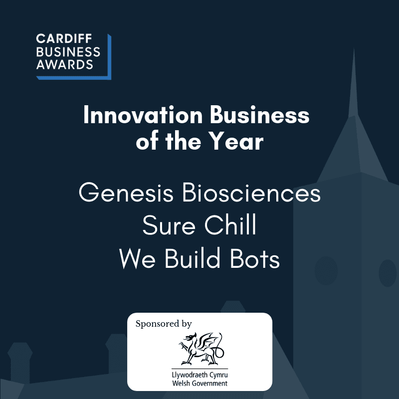 Cardiff Business Awards 2019 - Innovation Business of the Year nominees